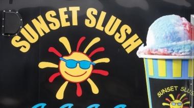 sunset slush