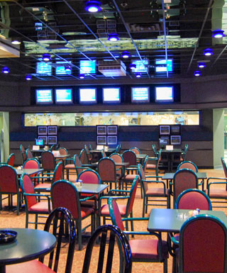 Off-track betting facilities