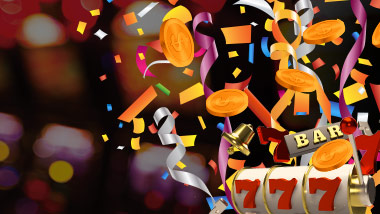 Celebrate new slot machines with confetti and slotplay