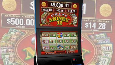 new slot machine crazy money