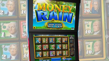 new slot machine money rain